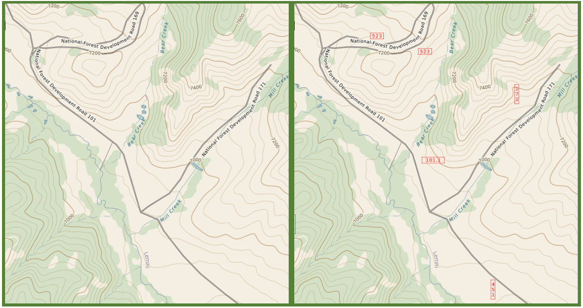 US Forest Service road identifiers now in TotalTopo – Azimuth1 ...